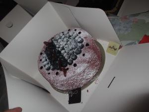 Bilberry Lenötre cake