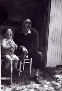 grand père & petit fils