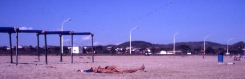 Spain Calafell beach 1985