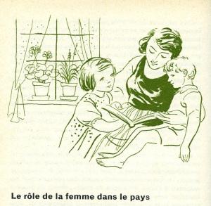 women in Switzerland soldier book1958